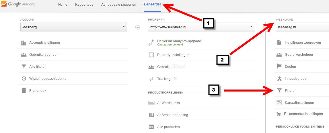 filter google analytics2