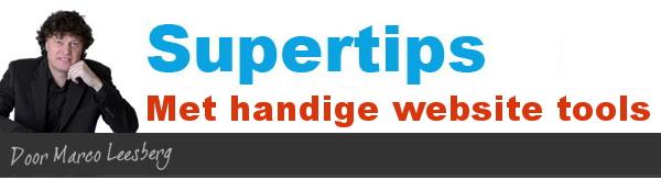supertips handige website tools
