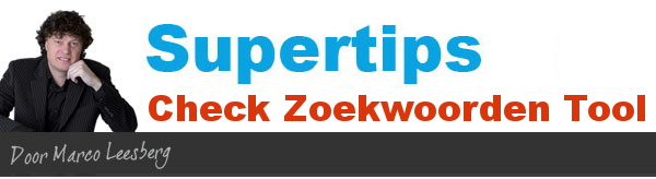 supertips check zoekwoorden tool