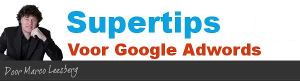 supertips google adwords zoekwoorden