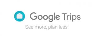Google trips tips