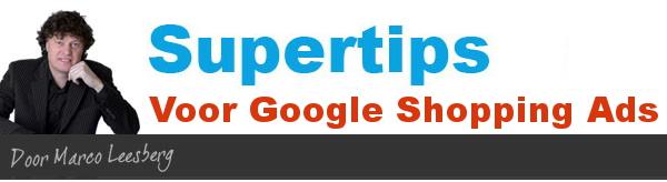 supertips google shopping advertenties