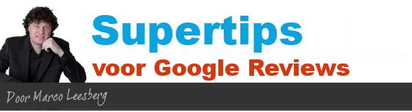 supertips voor google reviews