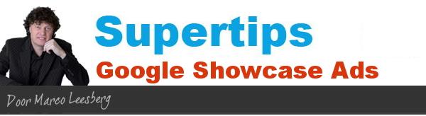 supertips voor showcase ads